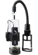 Pump Worx Deluxe Vibrating Power Pump Clear