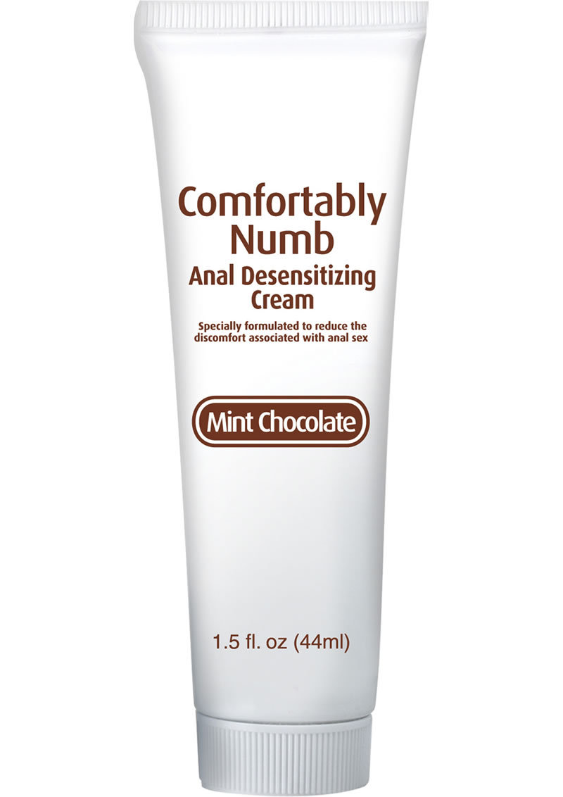 Comfortably Numb Anal Desensitizing Cream Mint Chocolate 1.5 Ounce